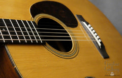 1943 Martin 000-21 guitar front angle