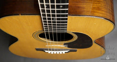1943 Martin 000-21 guitar down front view