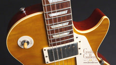 Gibson '59 reissue Les Paul guitar detail