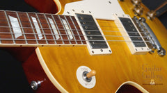 Gibson vintage lemon burst finish on Les Paul reissue