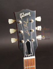 '59 Gibson Les Paul reissue electric guitar headstock