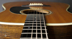 used Martin D-28 down front view
