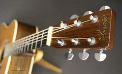 1976 Martin D-28 guitar headstock