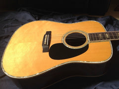 1987 Martin D-45 guitar gold flake sitka spruce top