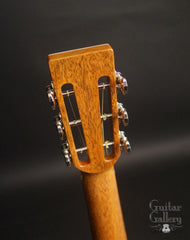 Froggy Bottom A-12 guitar headstock back