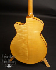 D'ambrosio archtop guitar back