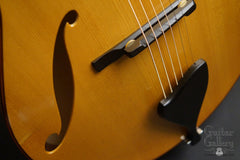 D'Ambrosio archtop guitar f holes