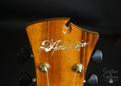 D'Ambrosio archtop guitar  logo
