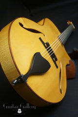 D'Ambrosio archtop guitar built for Julian Lage