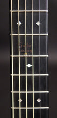 Bourgeois Soloist OMC AT guitar fretboard