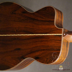 Bourgeois Soloist OMC AT guitar Brazilian rosewood back