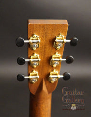 Bourgeois guitar headstock back