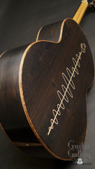 Lowden S50 Bushmills guitar back inlay