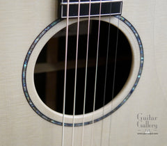 Lowden ancient bog guitar rosette