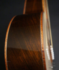 Branzell 000-12 guitar side detail