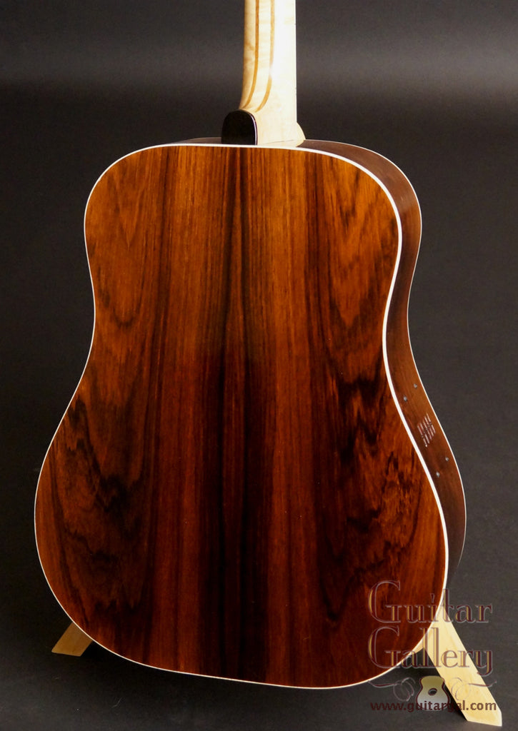 Leach Thom Bresh Legacy Guitar back