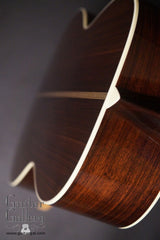 Collings 02H guitar down back