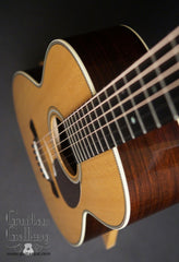 Collings 02H guitar down front view