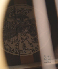 Collings 02H guitar interior label