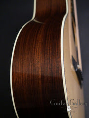 Collings 02H guitar side detail