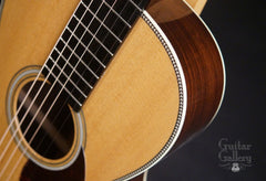 Collings 02H guitar herringbone purfling
