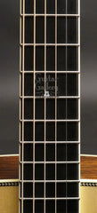 Collings CW BR A guitar fretboard