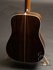 Collings CW guitar back