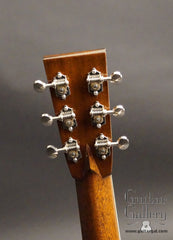 Collings CW guitar headstock back