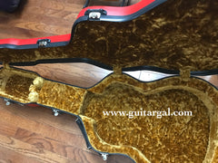 Calton gold interior on Gibson LG-2 case