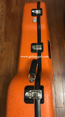 Calton orange granite flight case for Lowden F