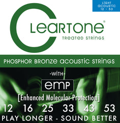 Cleartone PB Light Acoustic Guitar Strings