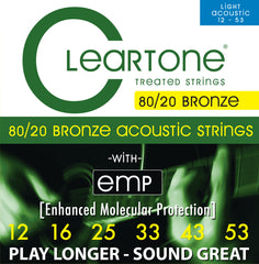 Cleartone 80/20 Light Acoustic Guitar Strings