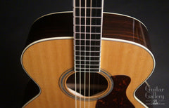 Collings SJ SS guitar down front view