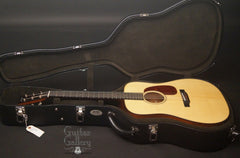Collings D1ATS guitar inside case