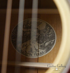 Collings guitar label