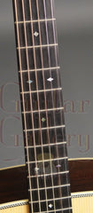 Collings D2HG guitar fretboard