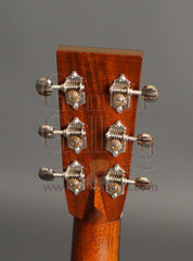 Collings D2HG guitar headstock back