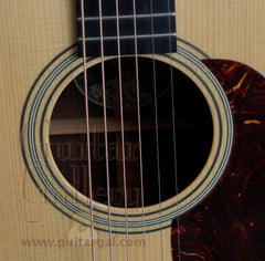 Collings D2HG guitar rosette