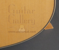 Collings D2HG guitar purfling