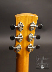 Laurent Brondel guitar headstock back