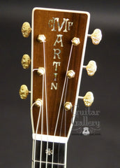 Martin D-45S guitar headstocl