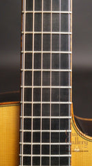 Bourgeois guitar fretboard