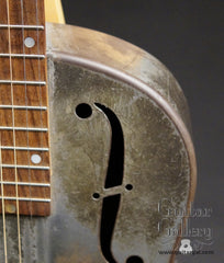 vintage National Duolian resonator upper bout