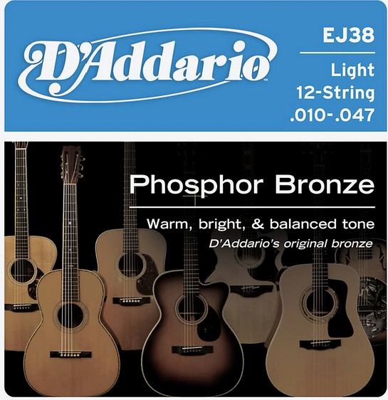 D'Addario EJ38 Guitar Strings