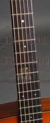 Collings D1ASB varnish guitar fretboard