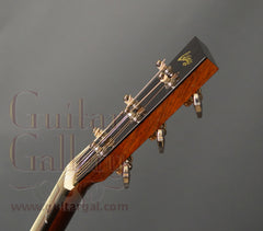 Collings D1ASB varnish guitar headstock side