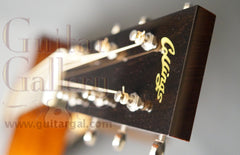 Collings D1ASB varnish guitar headstock