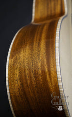 Froggy Bottom sinker mahogany guitar side
