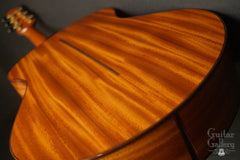 Fay guitar Cuban mahogany back