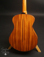 Fay OM guitar Cuban mahogany back